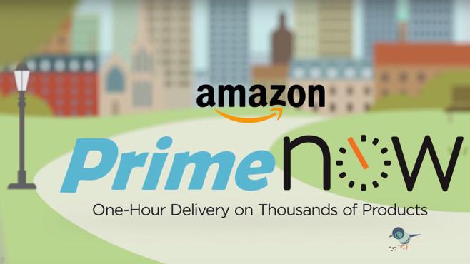 Amazon Prime Now Produktfoto©Amazon