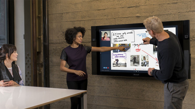 Microsoft Surface Hub ©Microsoft