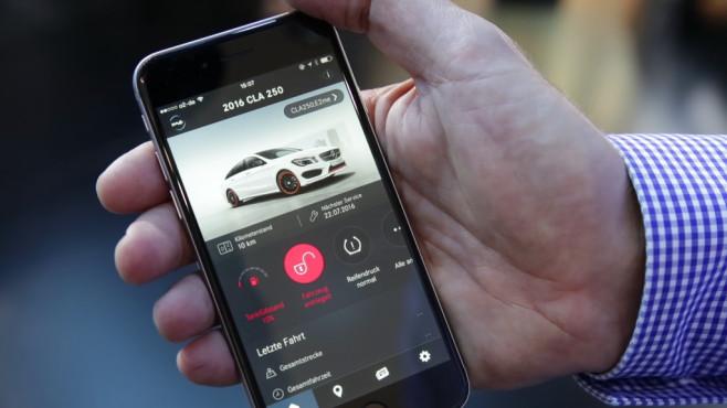 mercedes me: app für autos mit comand - computer bild