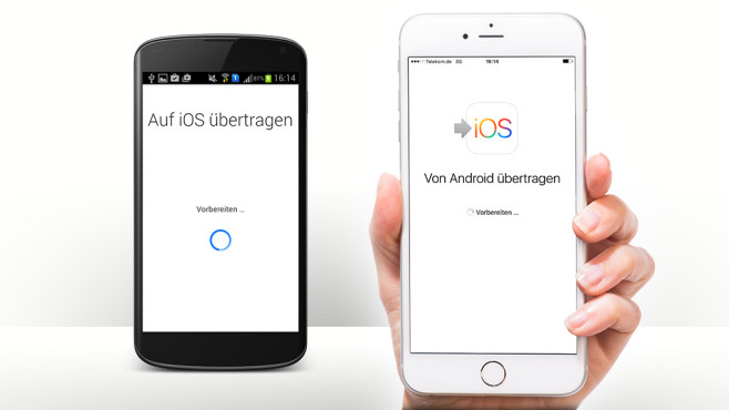 Auf zu Apple: Der Umstieg von Android mit Move to iOS©Google, ©istock.com/Onfokus