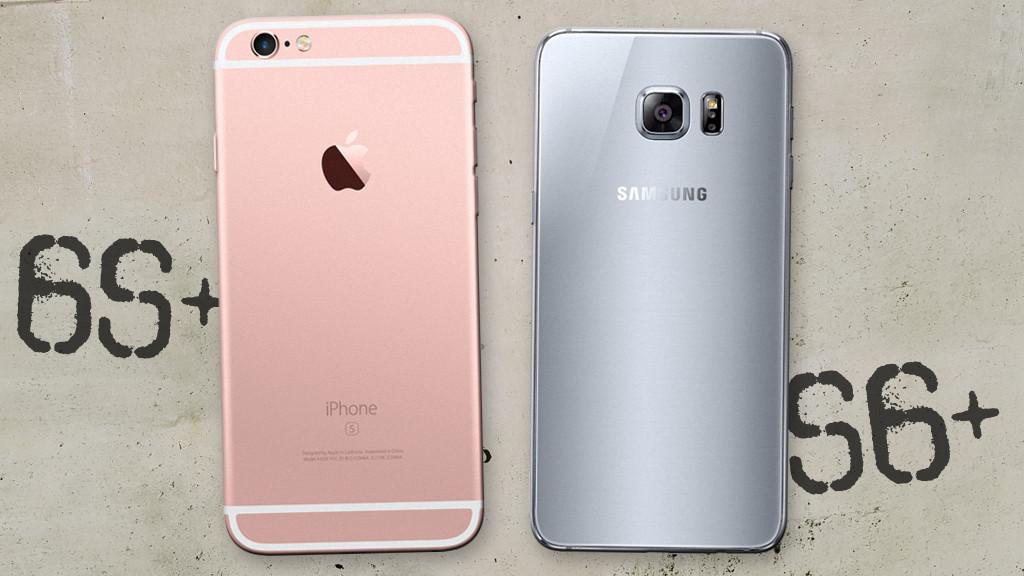 Vergleich iphone 6 und 6s und 7