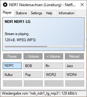 Screenshot 1 - NetRadio