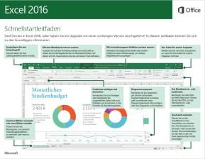 Microsoft Excel 2016 (Schnellstart-Anleitung als PDF)