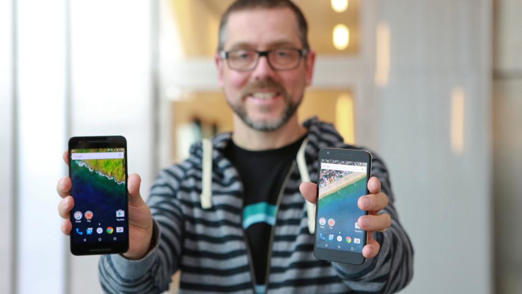 Nexus 6P und Nexus 5X©COMPUTER BILD