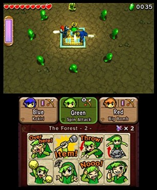 The Legend of Zelda – Triforce Heroes © Nintendo