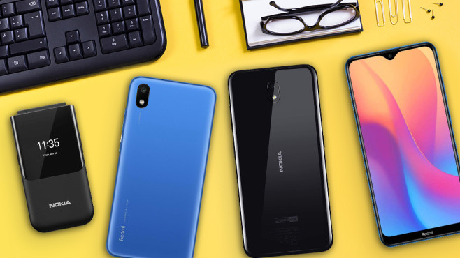 Billige Handys ohne Vertrag unter 100 Euro©iStock.com/Eskemar, HMD Global, Xiaomi