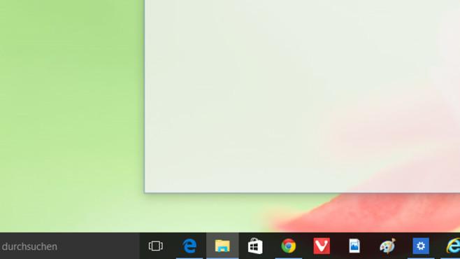 Windows + 2: Zweites Taskleisten-Tool starten ©COMPUTER BILD