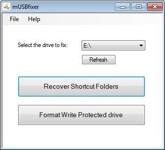 Screenshot 1 - mUSBfixer