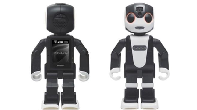 Der Bot ist 19,5 Zentimeter groß.©Sharp