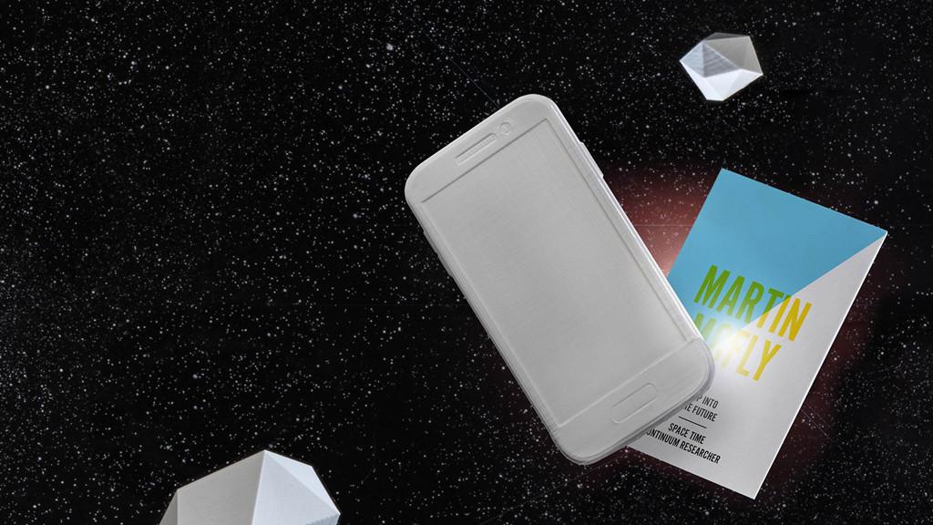 Visitenkarte Mit Nfc Chip Paper Computer Bild