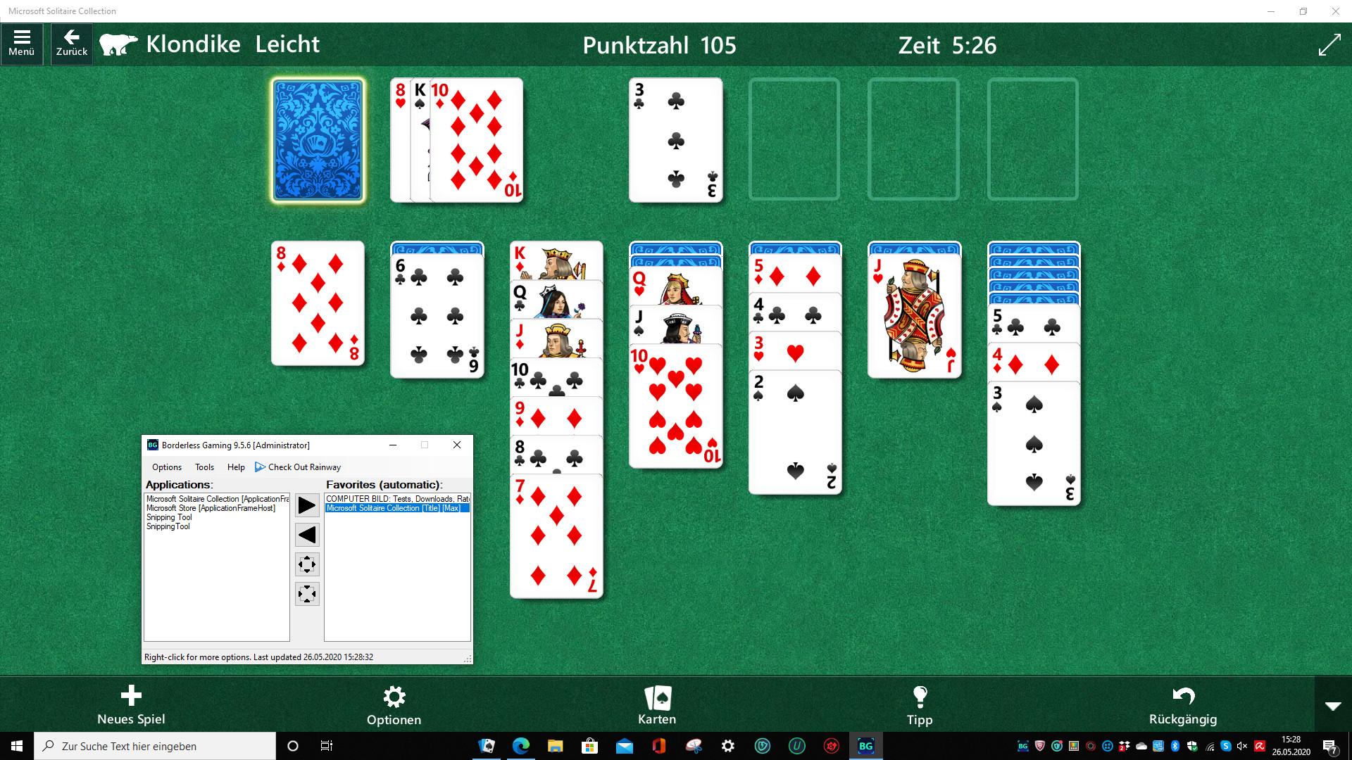 Screenshot 1 - Borderless Gaming