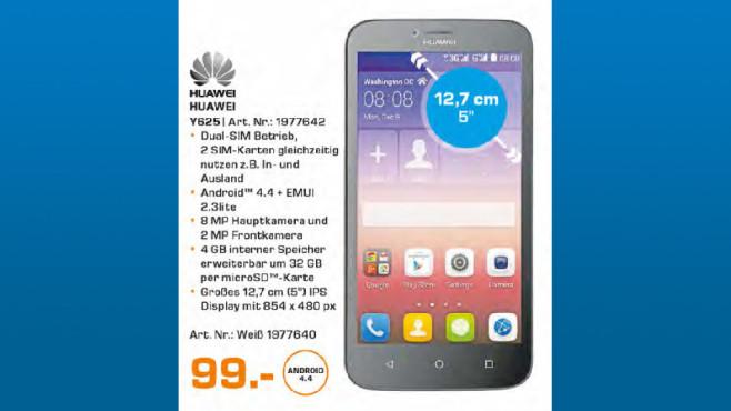 Huawei Y625 ©Saturn