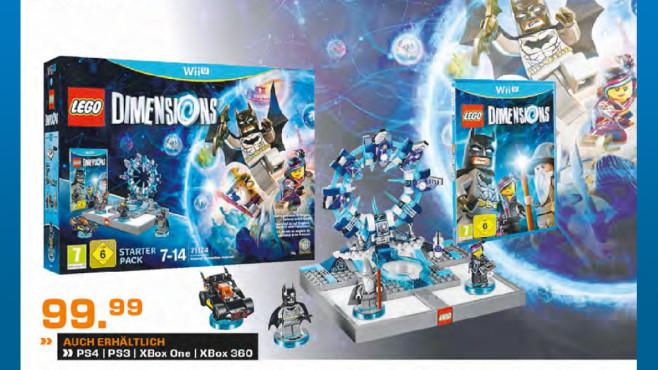 Lego Dimensions – Starter Pack (Wii U) ©Saturn