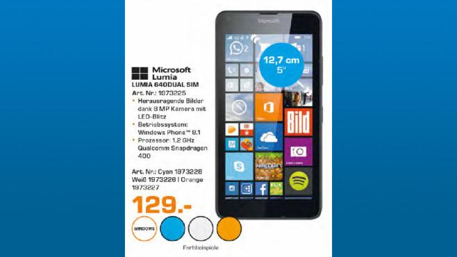 Microsoft Lumia 640 Dual SIM ©Saturn