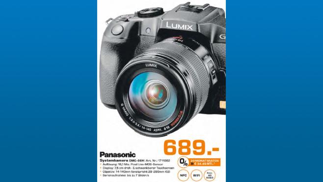Panasonic Lumix DMC-G6 Kit 14-140 mm ©Saturn