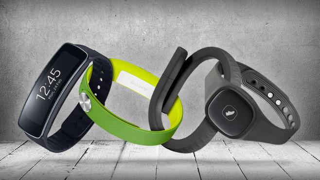 Fitness-Armband günstig©Samsung, Sony, Jawbone, IMaster – Fotolia.com