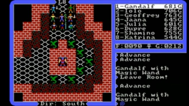 Ultima 4 – Quest of the Avatar ©Origin Systems