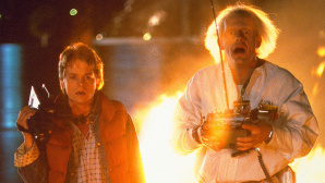 Marty McFly und Doc Brown © Universal Pictures