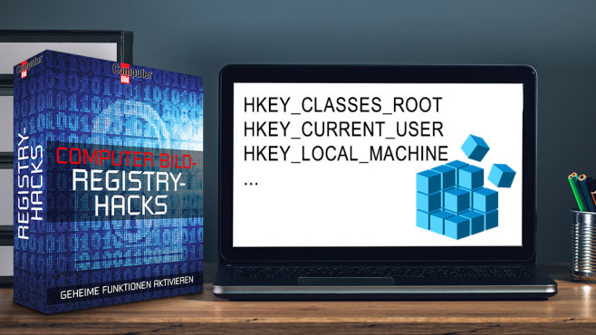 COMPUTER BILD-Registry-Hacks: System wunschgemäß modifizieren ©COMPUTER BILD