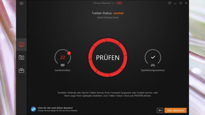 Driver Booster: Treiber auf Knopfdruck einspielen ©COMPUTER BILD
