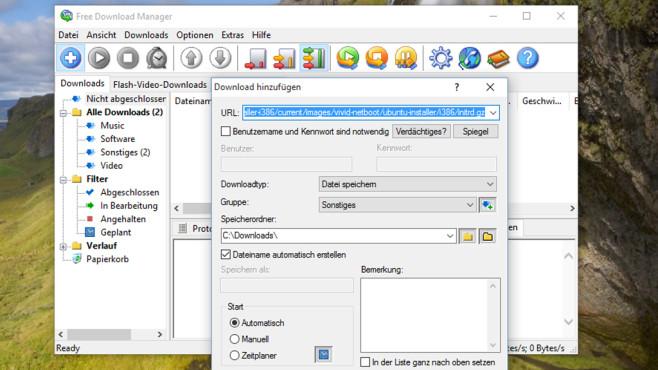 Free Download Manager: Abgebrochene Downloads nahtlos fortsetzen ©COMPUTER BILD