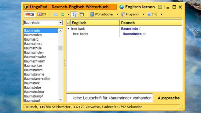 LingoPad: Schlankes Übersetzer-Tool ©COMPUTER BILD