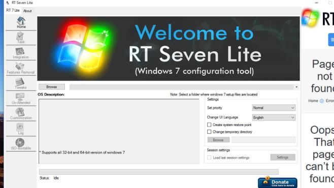 RT Seven Lite, NTLite Free: Windows optimal neu installieren ©COMPUTER BILD