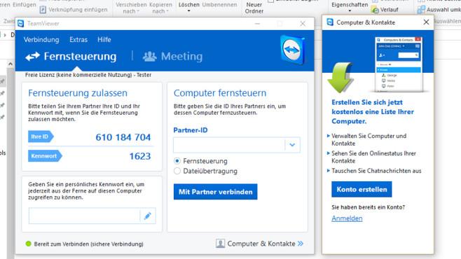 TeamViewer: PC-Probleme aus der Ferne lösen ©COMPUTER BILD