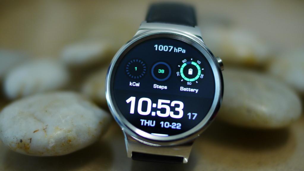 huawei watch smartwatch im test computer bild. Black Bedroom Furniture Sets. Home Design Ideas