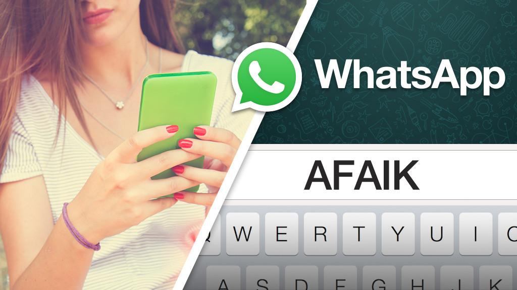 Die 50 Wichtigsten Whatsapp Kurzel Bilder Screenshots