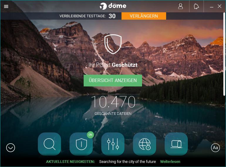 Screenshot 1 - Panda Dome Premium