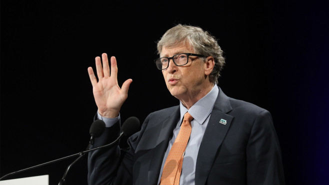 Bill Gates © LUDOVIC MARIN/Gettyimages