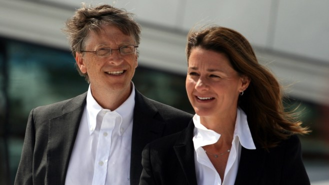 Bill und Melinda Gates © Wikipedia