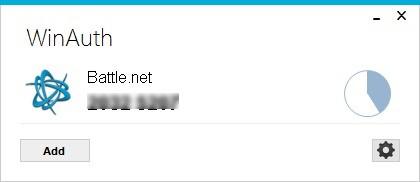 Screenshot 1 - WinAuth