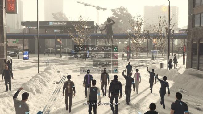 Detroit – Become Human: Wir sind die Roboter©Sony