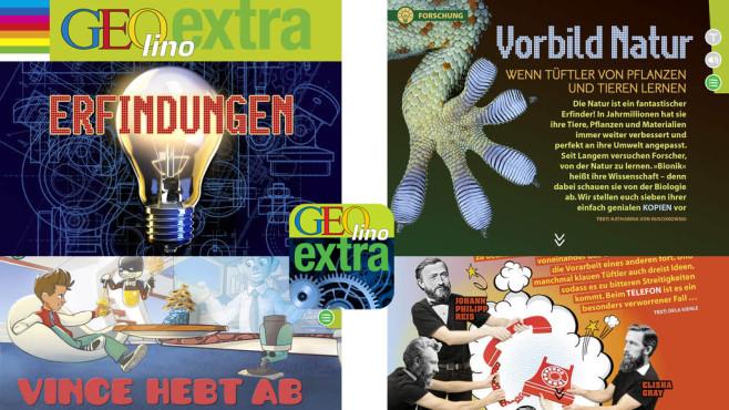 GEOlino extra – Erfindungen ©G+J Digital Products GmbH