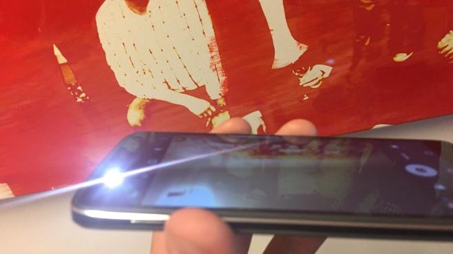 """Blackberry DTEK50: """"Sicherstes Android-Smartphone der Welt"""" im Praxis-Test Die Kameras schießen zufriedenstellende Fotos – nicht mehr und auch nicht weniger. Pluspunkte gibt es für den LED-Blitz neben der Frontkamera.©COMPUTER BILD"""