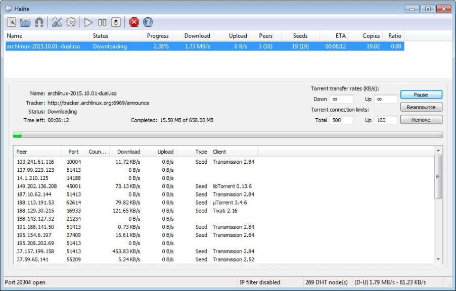 Screenshot 1 - Halite