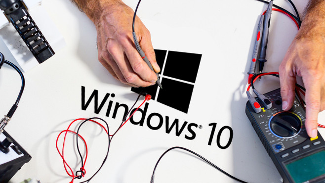 Windows 10 im Test©Microsoft, science photo - Fotolia.com