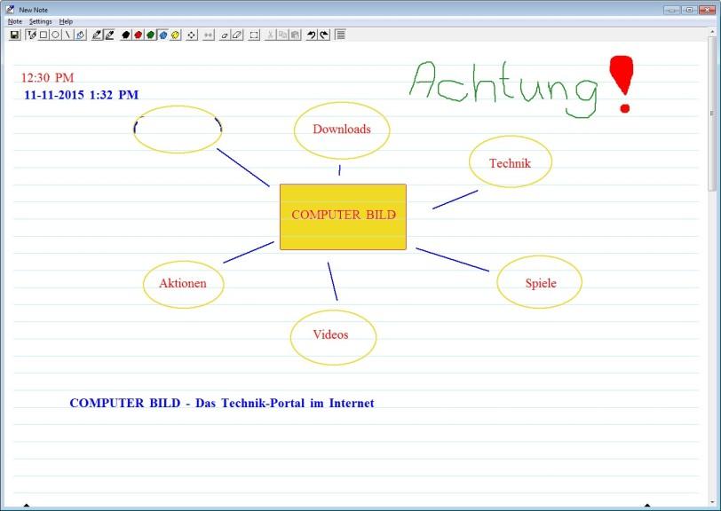 Screenshot 1 - NoteItAll