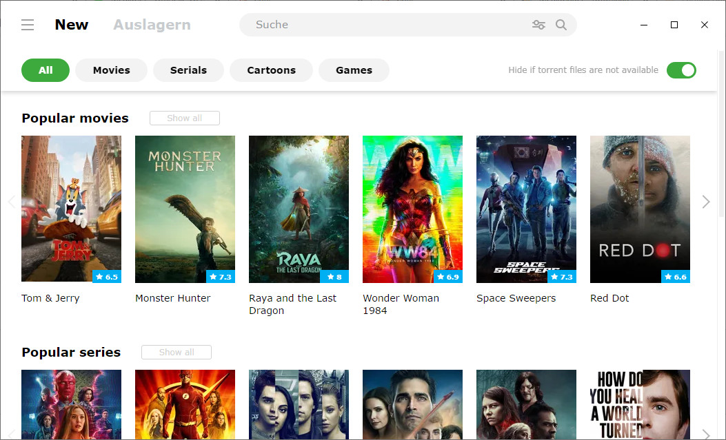 Screenshot 1 - MediaGet