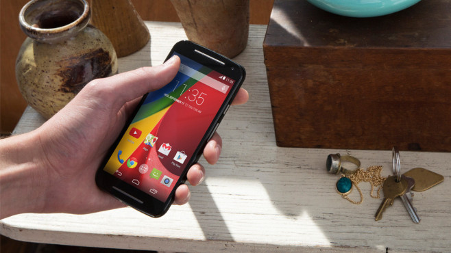 Motorola Moto G 4G LTE (2. Gen.) ©Motorola