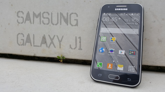 Samsung Galaxy J1 ©COMPUTER BILD