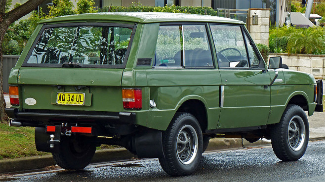 Octopussy: Land Rover Range Rover Cabrio © Wikipedia