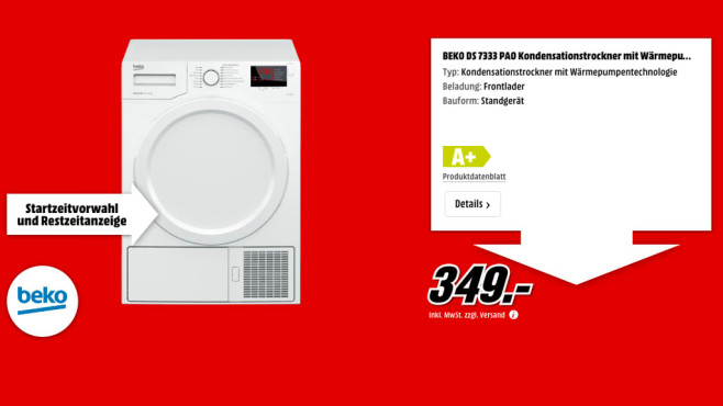 Beko DS 7333 PA0 ©Media Markt
