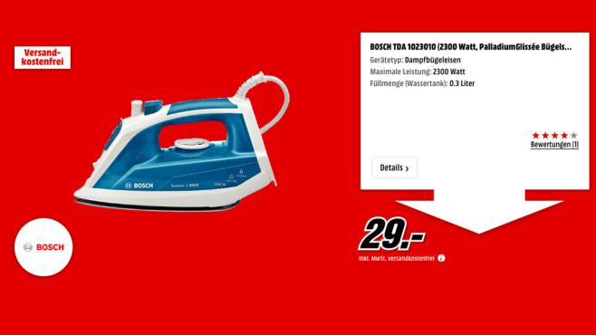 Bosch TDA 1023010 ©Media Markt