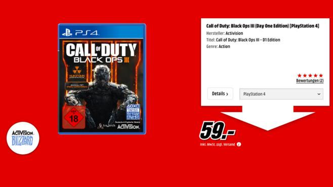 Call of Duty: Black Ops 3 ©Media Markt