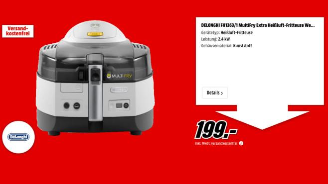 Delonghi FH1363/1 MultiFry Extra ©Media Markt