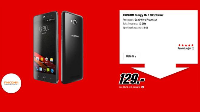 Phicomm Energy M+ 8GB ©Media Markt