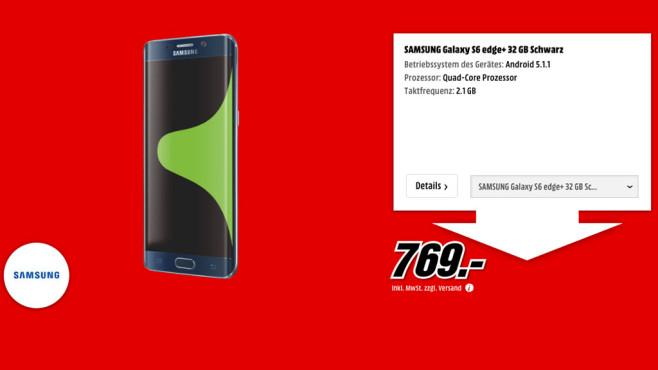 Samsung Galaxy S6 Edge+ 32GB ©Media Markt